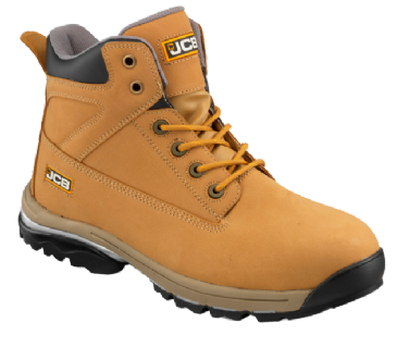 JCB Honey Nubuck Boot with Steel Midsole WORKMAX/H